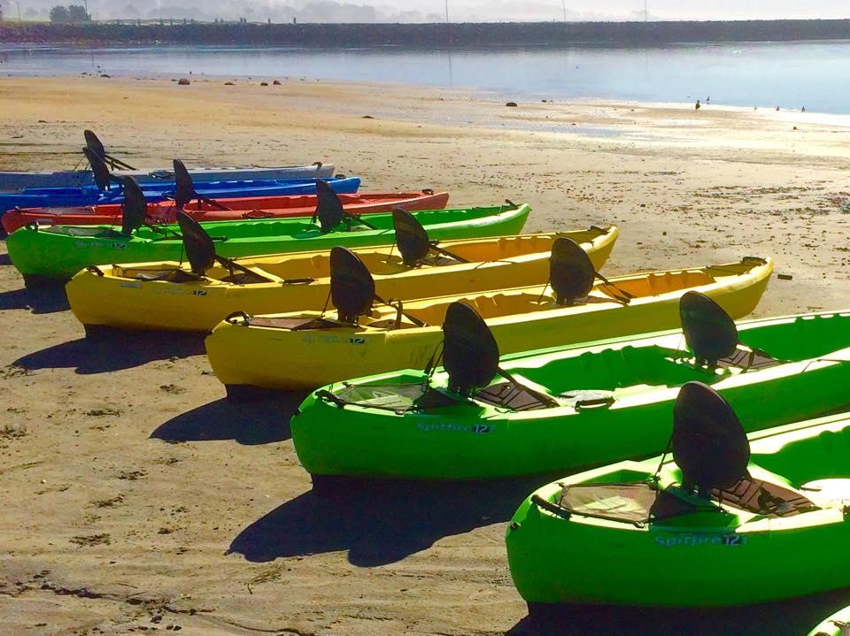 Double Kayak Rental   Half Moon Bay Kayak Company